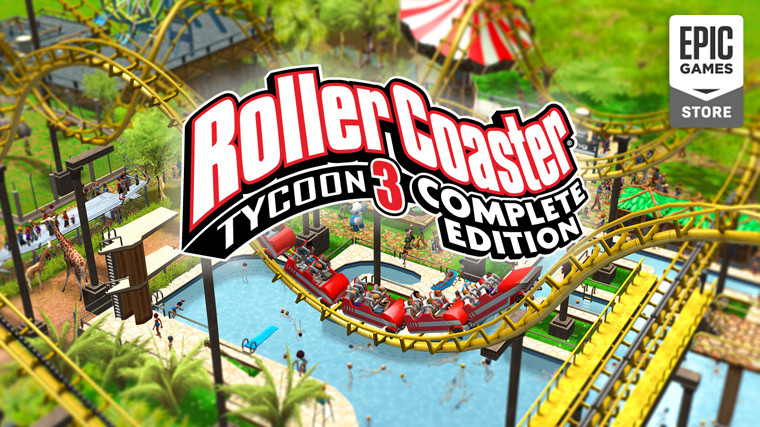 Ingyenes a RollerCoaster Tycoon 3 Complete Edition