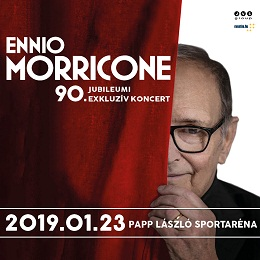 "Ennio Morricone: ""A szívem Budapesté"