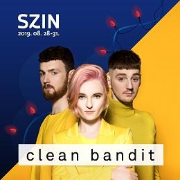 A SZIN-re jön a Clean Bandit