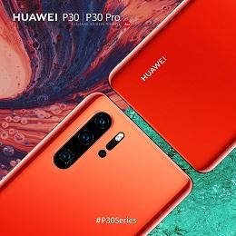 Varázslatos új színben is elérhető a Huawei P30 szériája