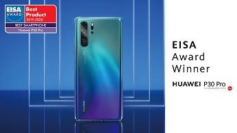 A Huawei P30 Pro lett az idei év legjobb okostelefonja