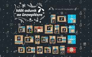 telenor adventi naptár 24 nap, 24 meglepetés decemberben a Telenortól telenorosoknak telenor adventi naptár