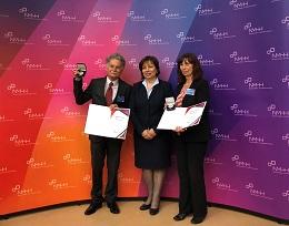 Rangos díjjal tüntette ki az NMHH a Telenor munkatársát